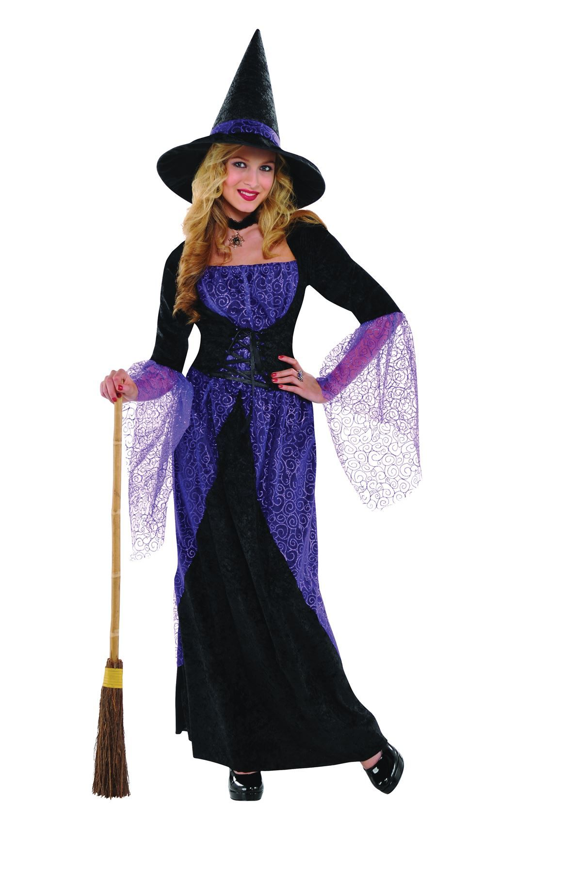 Details About Womens Pretty Potion Witch Halloween Costume Fancy