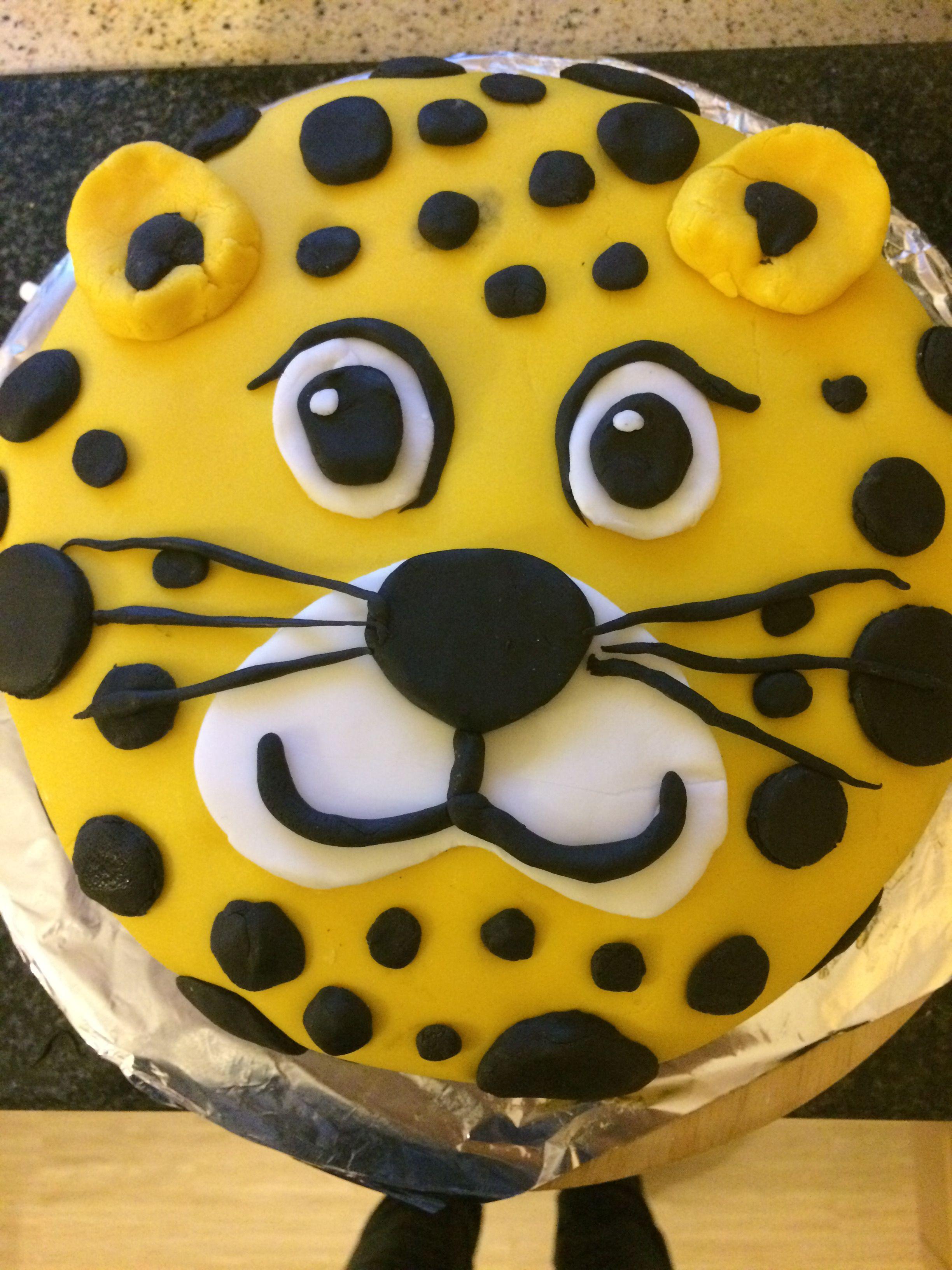 Sensational Cheetah Cake Cheetah Birthday Cakes Cheetah Cakes Cheetah Funny Birthday Cards Online Benoljebrpdamsfinfo