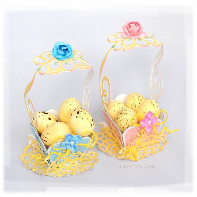 Crafting ideas from sizzix uk easter baskets from gerry die crafting ideas from sizzix uk easter baskets from gerry negle Gallery