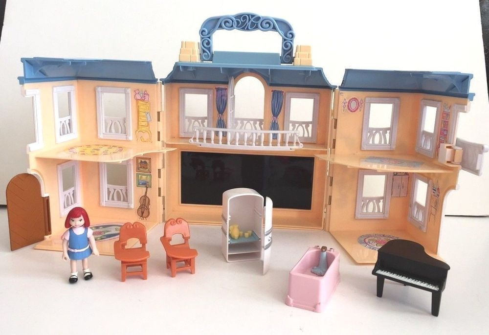 Attractive MADELINE LA PETITE OLD HOUSE IN PARIS DOLLHOUSE PLAY SET + DOLL U0026 FURNITURE
