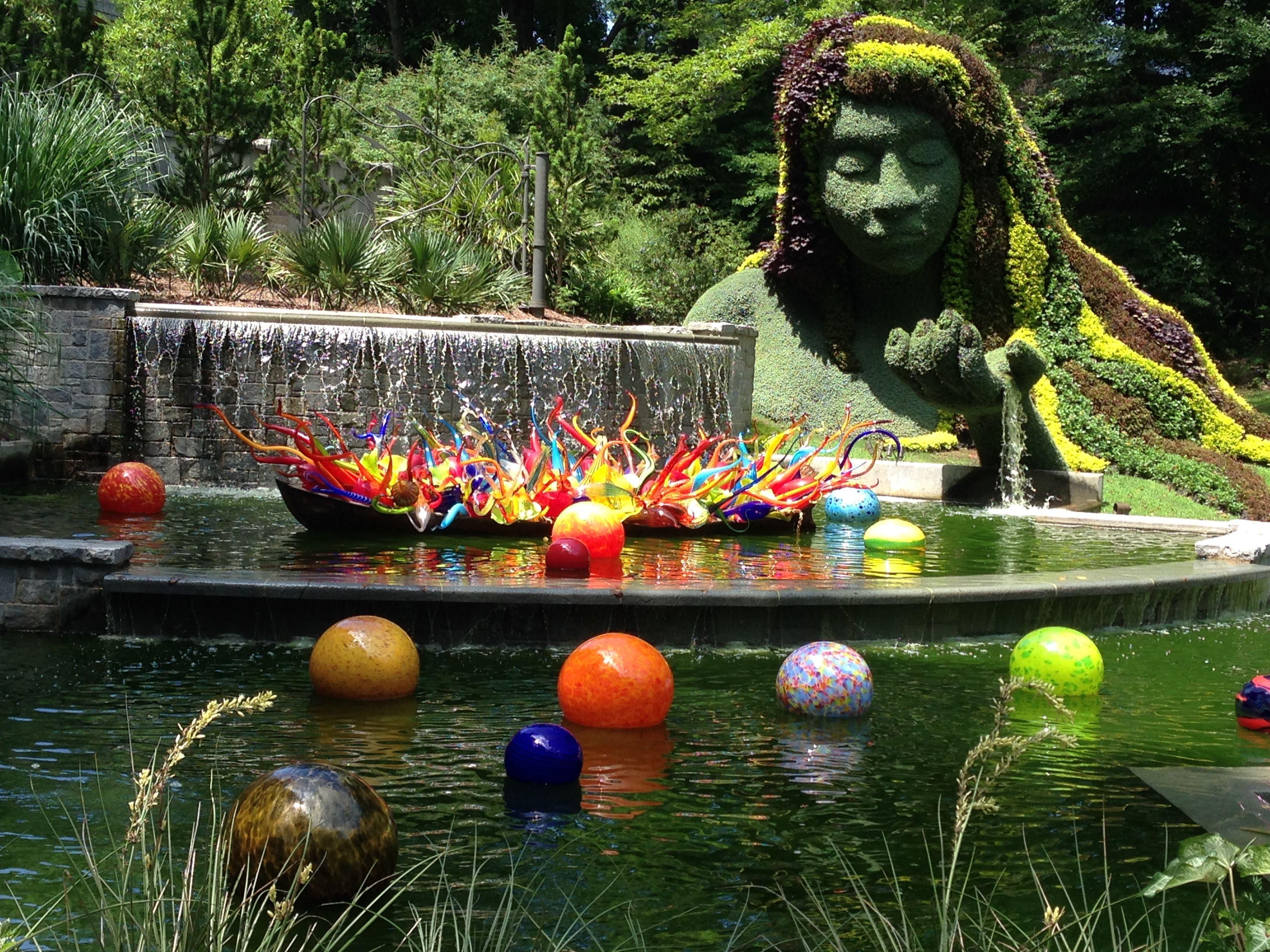 Fiori Boat and Niijima Floats Atlanta Botanical Gardens