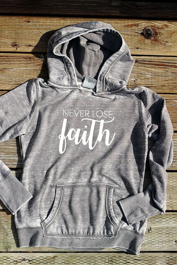 Christian Hoodies for Women Pullover Hoodies by GaffrenGraphics