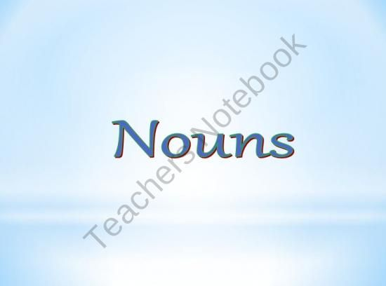 Nouns Powerpoint : Proper, Common, Singular, and Plural from Learning is Lots of Fun  on TeachersNotebook.com (37 pages)