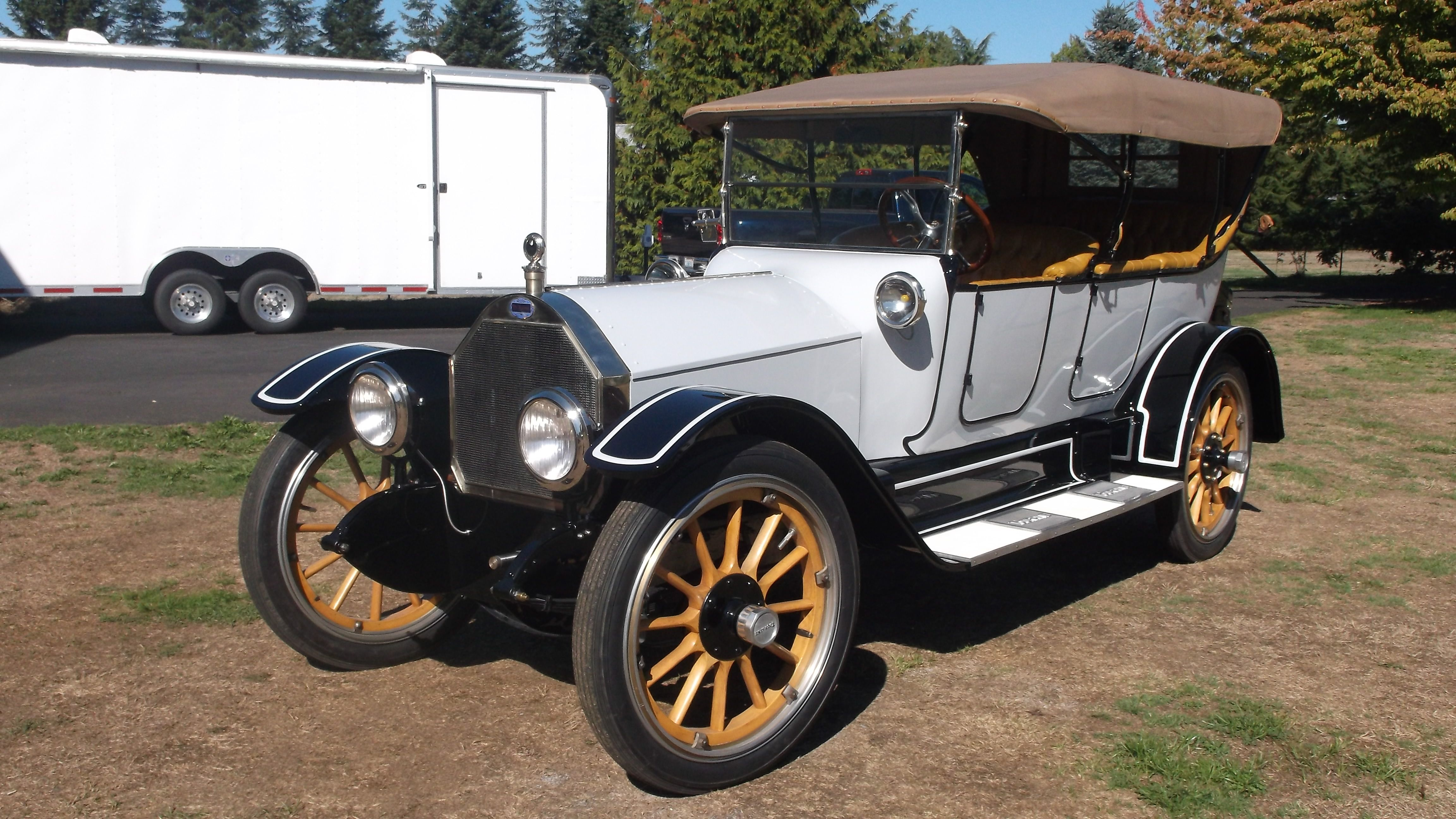 1914 Touraine Six Touring Only known Survivor, Built by