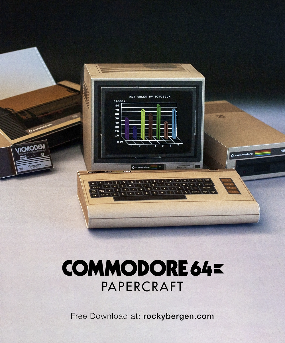 Commodore 64 Video Games CD, Includes Emulator With Over 17,000