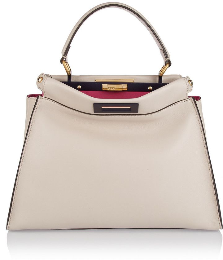 ... official fendi peekaboo medium leather tote chic only glamour always  c78f1 1d810 ... a90ce23e16ef7