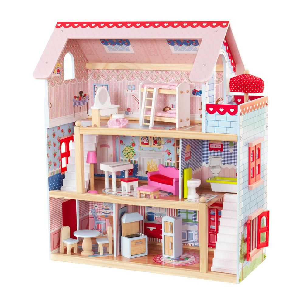 Kidkraft Chelsea Doll Cottage Play Set Products Dolls Chelsea