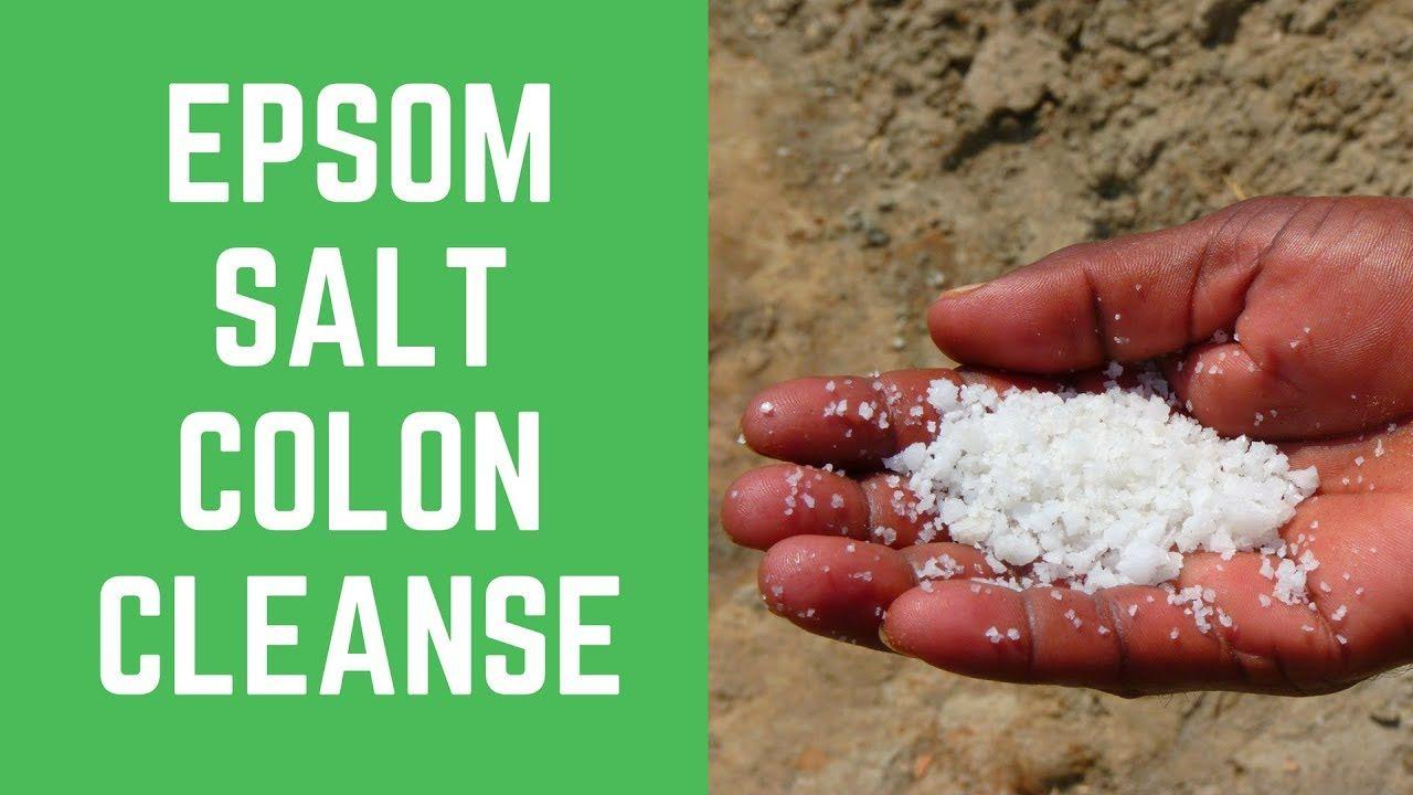 săruri epsom detox colon