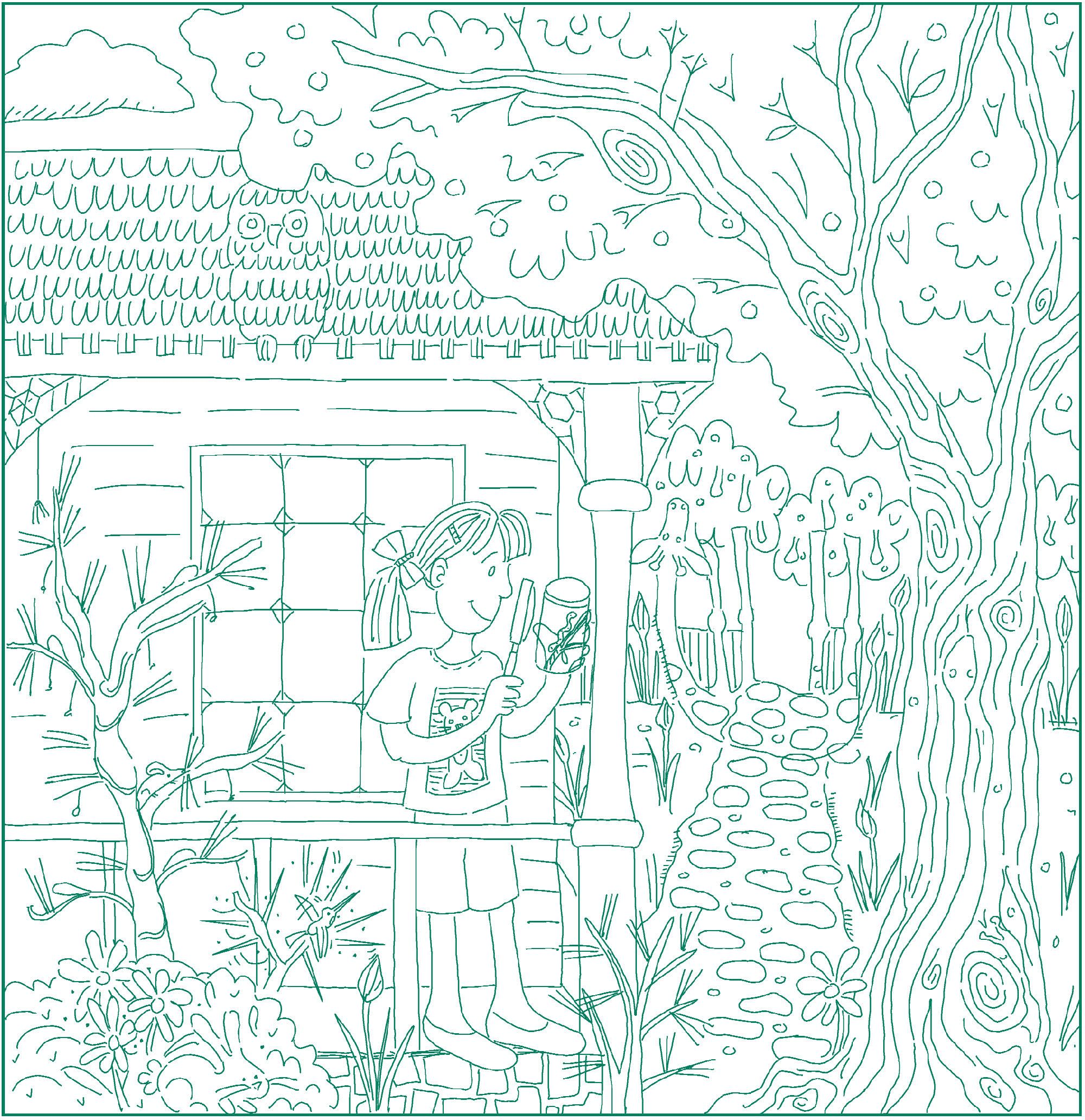 camouflage animal coloring pages - photo#43