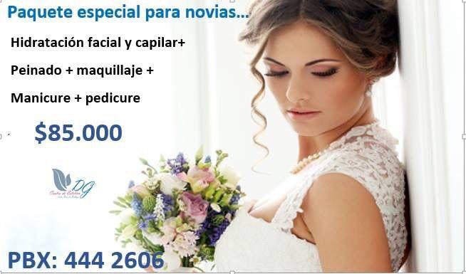 Paquete especial para novias 2015 Informes :4442606 Verdaderos expertos en belleza