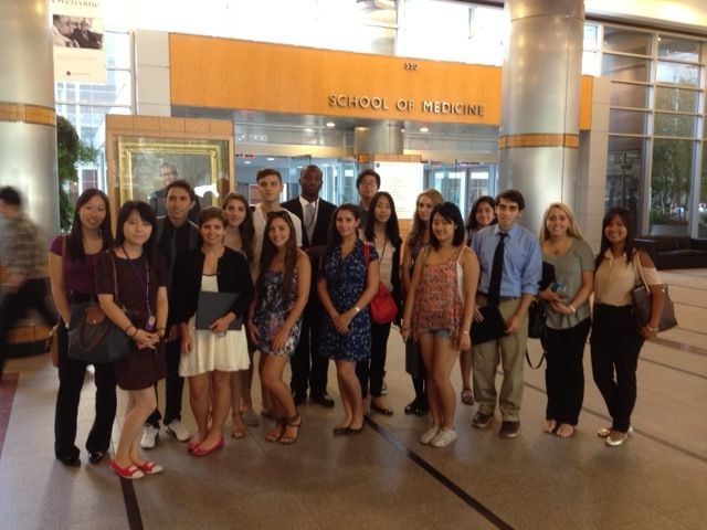 Site Visits: Incoming students get a glimpse of med school
