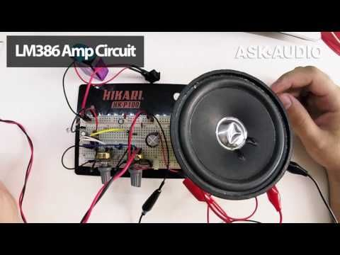 How to Build Your First Amplifier : Ask.Audio