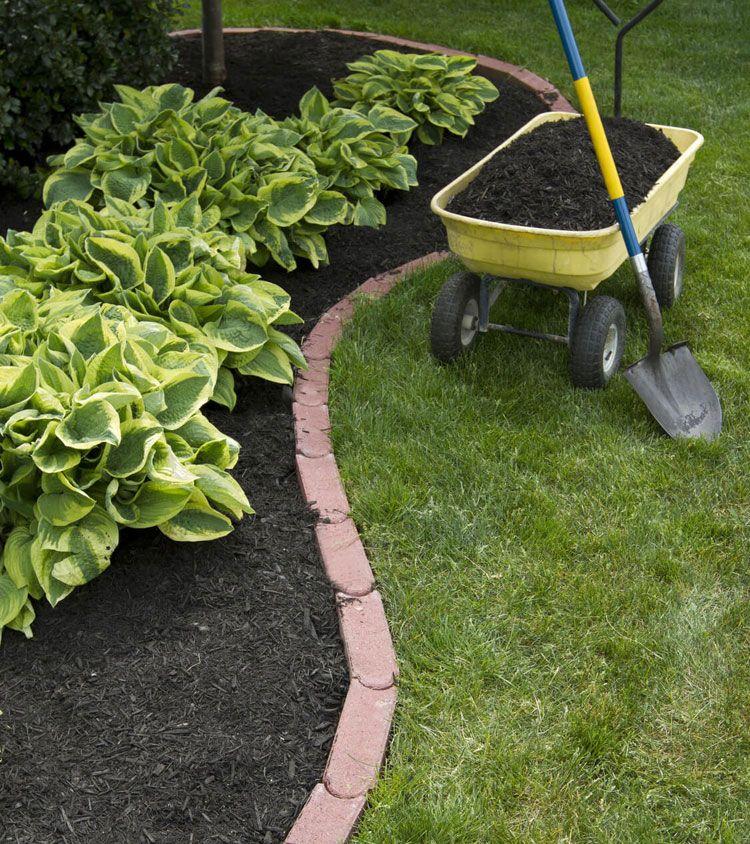 43 Best Lawn Edging Ideas 2020 Guide Brick Garden Edging Lawn Edging Yard Edging