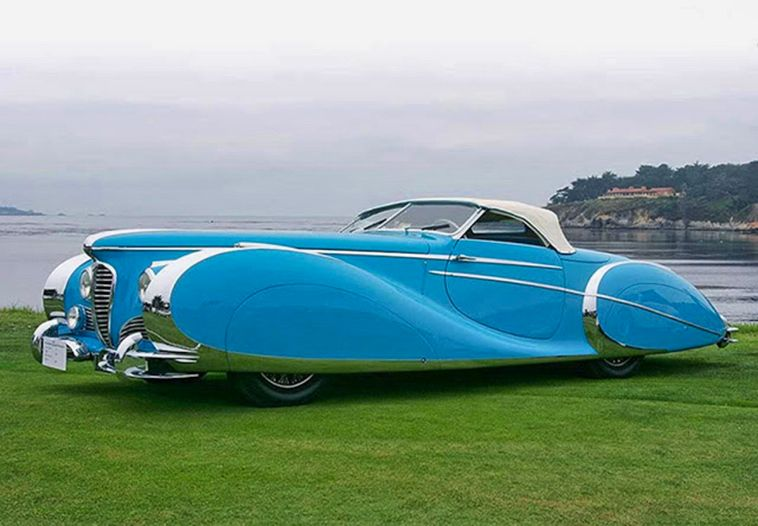 Amazing Photos Of The Classic 1949 Delahaye 175 S Saoutchik Roadster – Steampu…