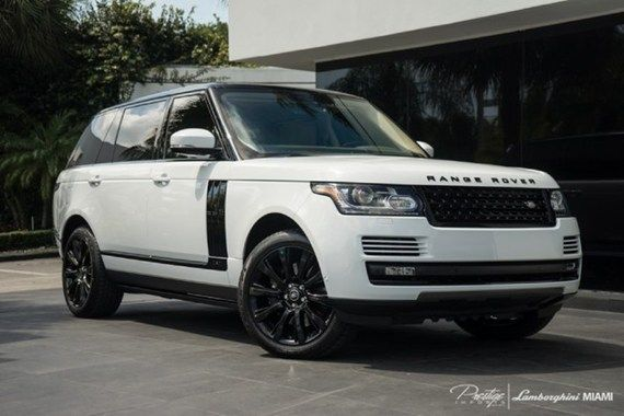 2014 Land Rover Range Rover For Sale In Biscayne Park Fl Land Rover Land Rover For Sale Range Rover Supercharged