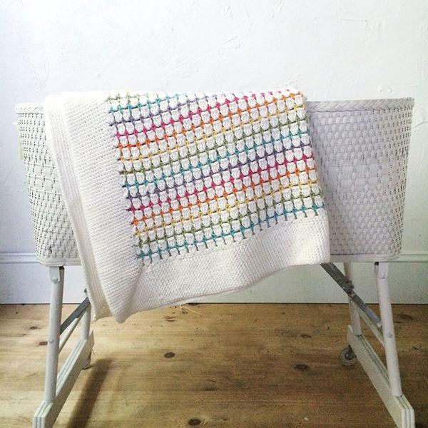 The Sweetpea Blanket | Crochet | Pinterest | Manta, Mantas de bebes ...