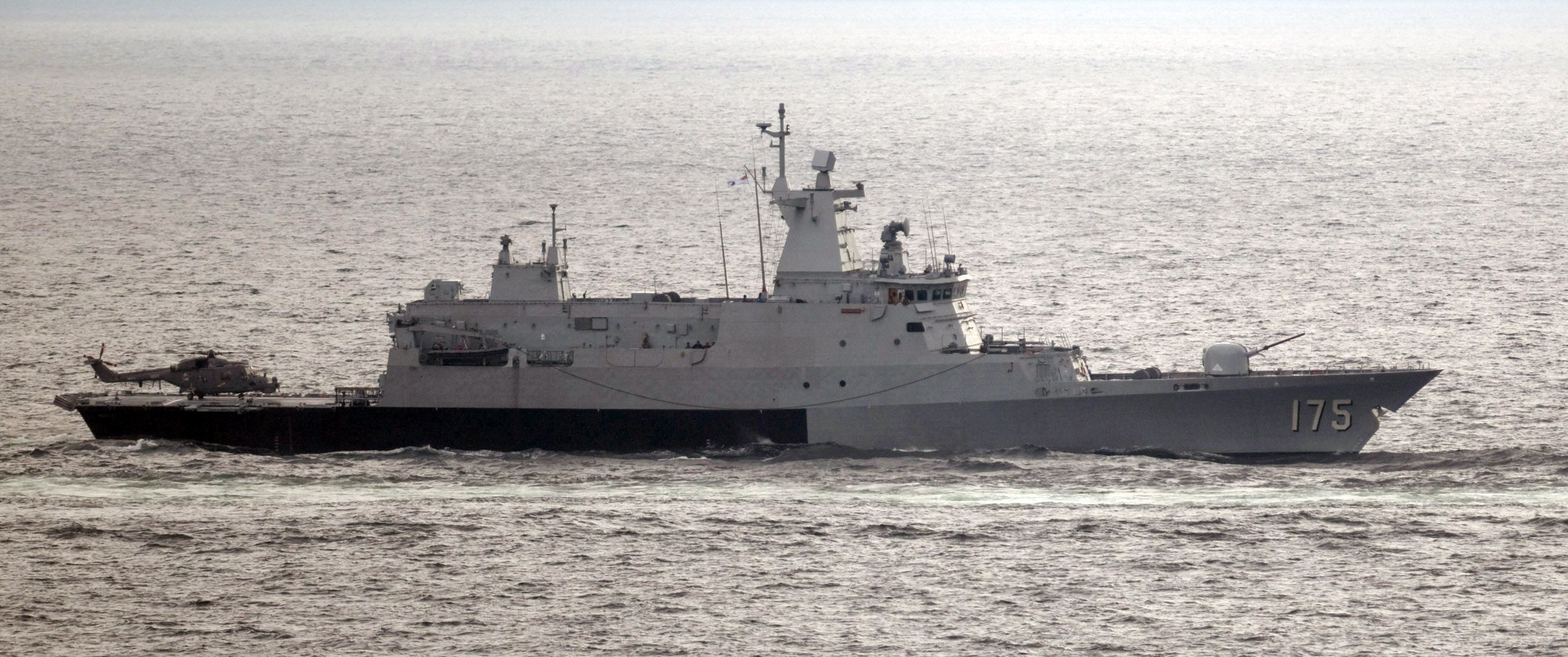 KD Kelantan (F175) Kedah class Offshore Patrol Vessel