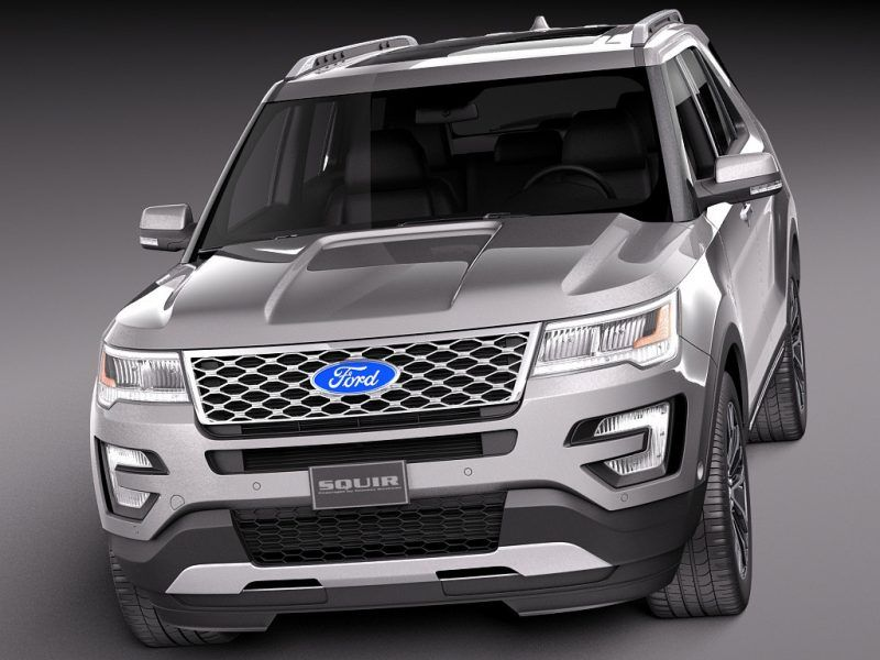 2018 Ford Explorer Platinum Redesign Ford Explorer Ford