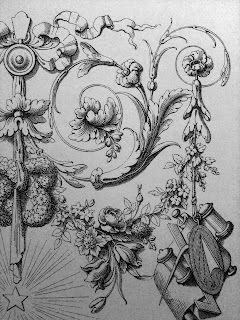 Spécimens de la décoration et de l'ornementation au XIXe siècle.