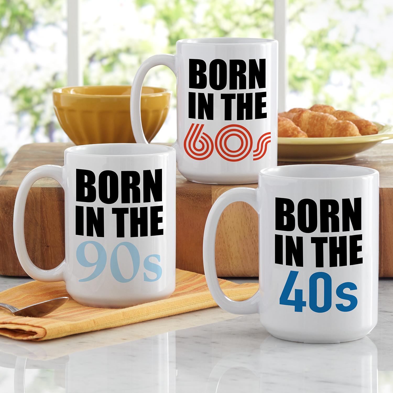 Born In Birthday Mug in 2020 Birthday mug, Mugs