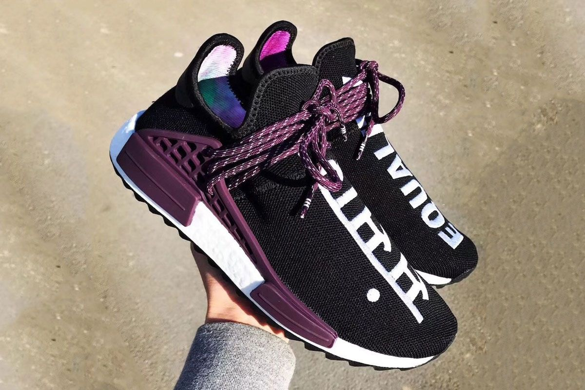 fce563e1f Pharrell Williams adidas Originals Hu NMD Trail Holi Equality Release Date  Info Drops March 2 2018