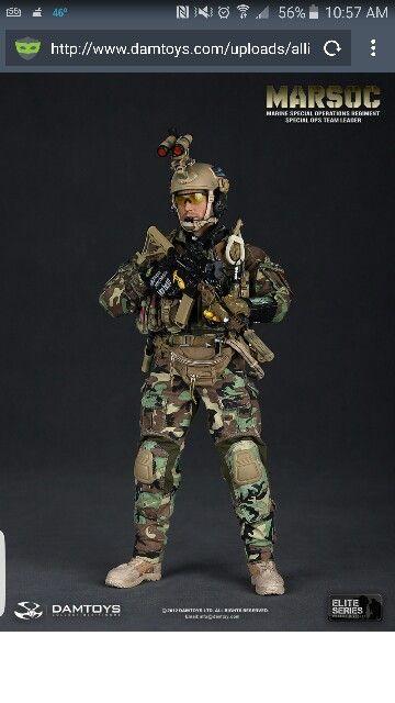U.S. Marine Corps MARSOC Team Leader | Special Ops Figures - U.S. ...