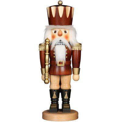 The Holiday Aisle® <p></p><strong>Features:</strong><ul><li>Christian Ulbricht collection</li><li>Product Type: Nutcracker</li><li>Color: Brown</li><li>Primary Material: Wood<ul><li>Primary Material Details: </li><li>Additional Materials: </li></ul></li><li>Country of Origin: Germany</li><li>Season: Winter</li><li>Holiday / Occasion: Christmas</li><li>Christmas: Nutcrackers</li><li>Thanksgiving: </li><li>Easter: </li><li>Valentine's Day: </li><li>Halloween: </li><li>Independence Day: </li><li>Ha