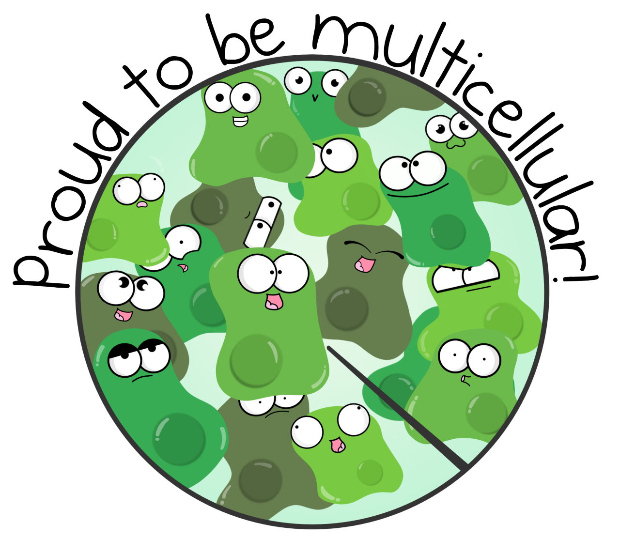 Appreciate The Little Things Today Like Being A Complex Multicellular Organism P S We Made Shirts With This Image Biology Notes Fun Science Science Clipart