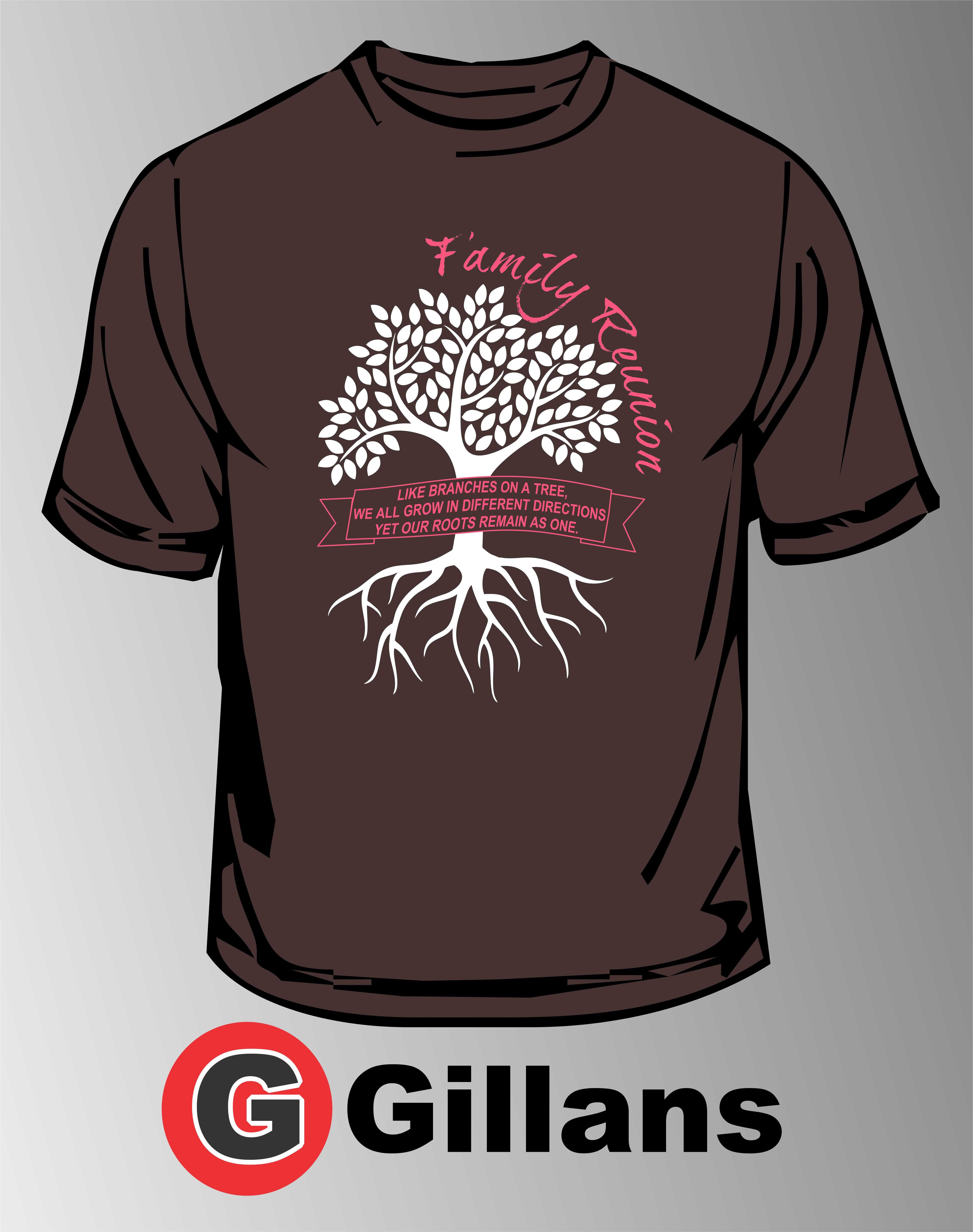 Design tshirt family - Get Your Next Family Reunion Shirt At Gillans