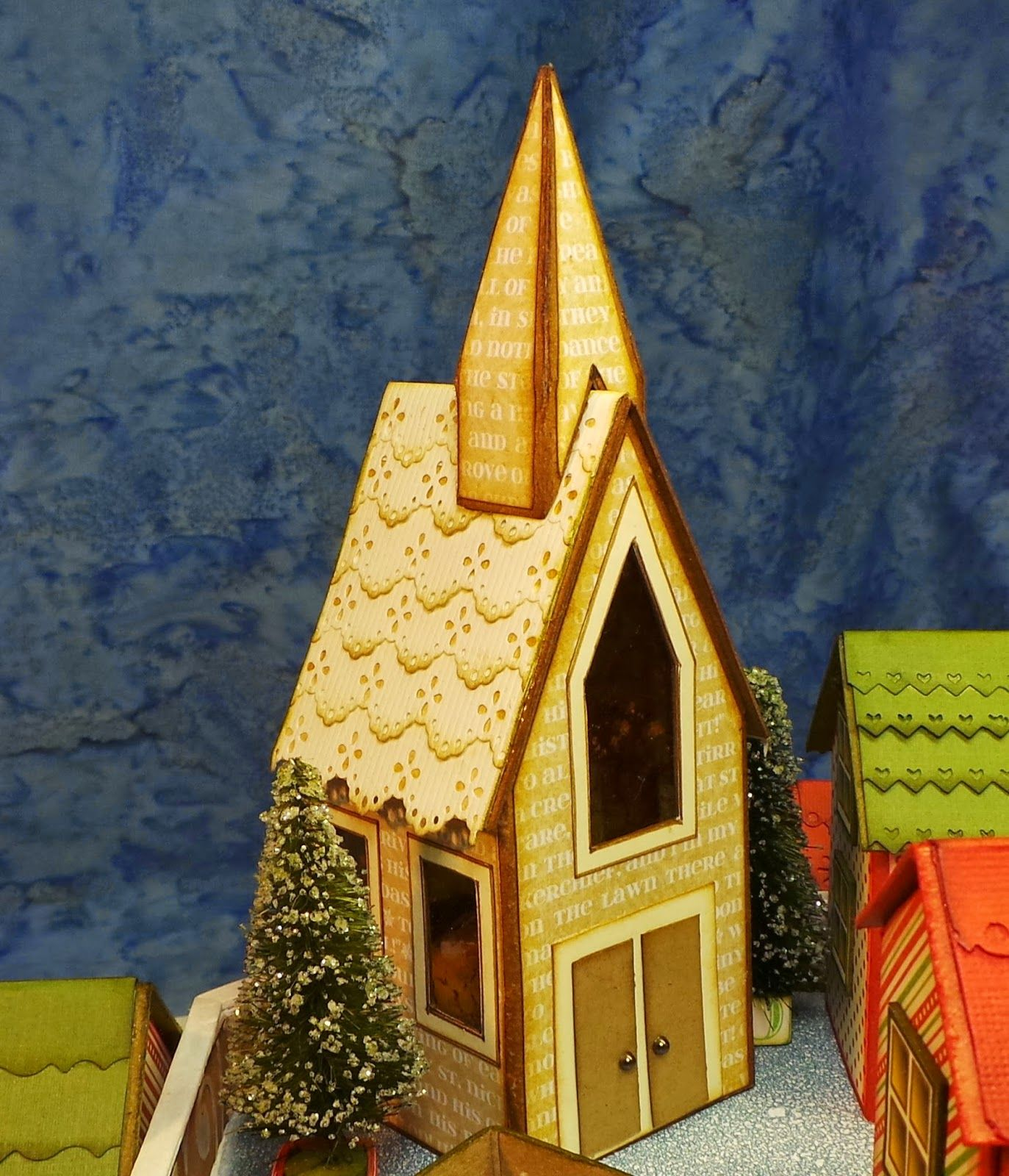 Twas the Night Before Christmas Village by Craft Knife
