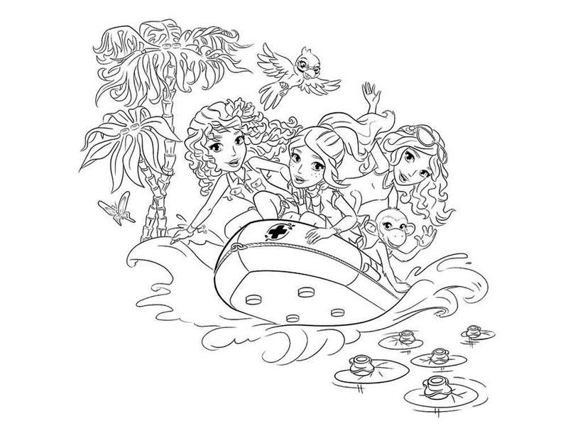 Lego Friends Boat Coloring Page Lego Movie Coloring Pages Superhero Coloring Pages Avengers Coloring Pages