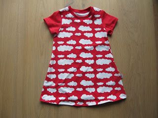 portami!: Tutorial und Schnitt: Jerseykleid Anna Gr. 80