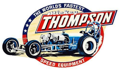 Vintage Mickey Thompson Speed Equipment Sticker Vintage Race Car Vintage Racing Drag Racing