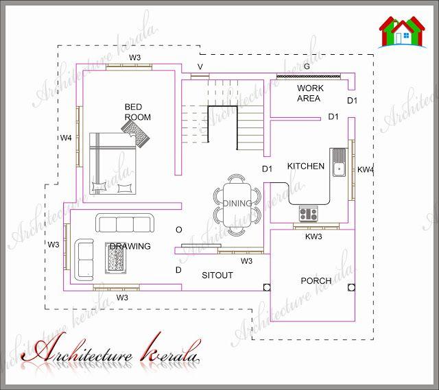 Architecture Kerala Plan 183 Low Medium Cost House