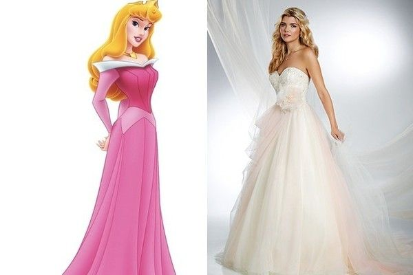 Wedding Dress Inspiration Fit For A Disney Princess Sleeping Beauty