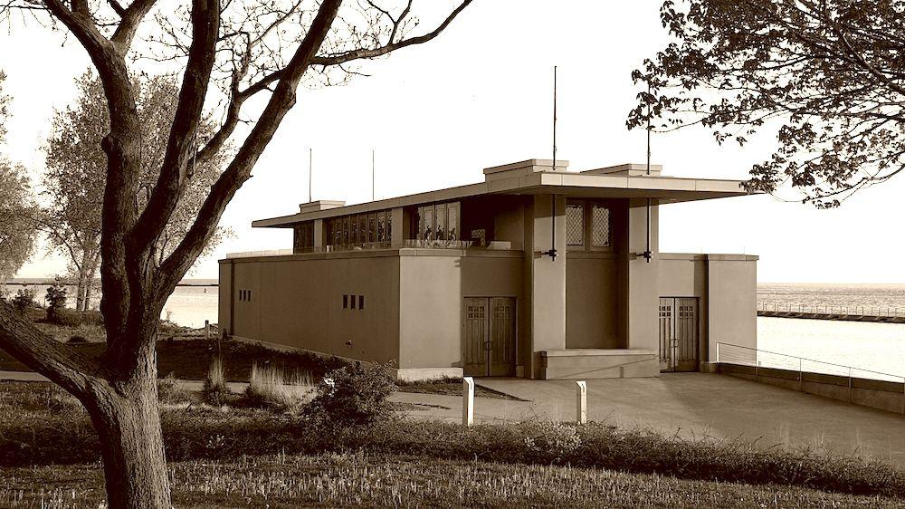 Frank Lloyd Wright Boat House Buffalo Wedding Venue