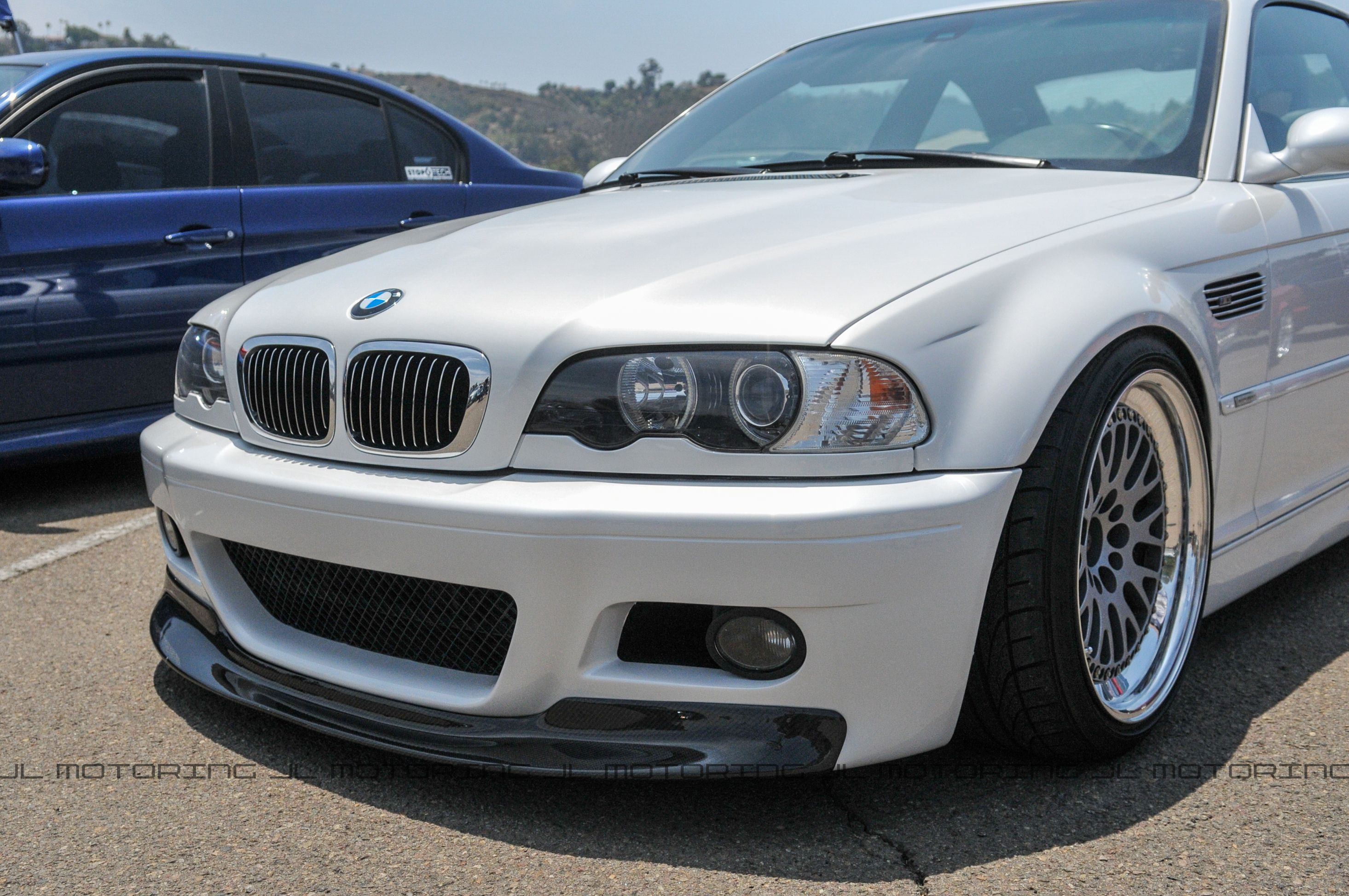 Bmw E46 M3 Csl Carbon Fiber Front Lip With Images Bmw Bmw E46