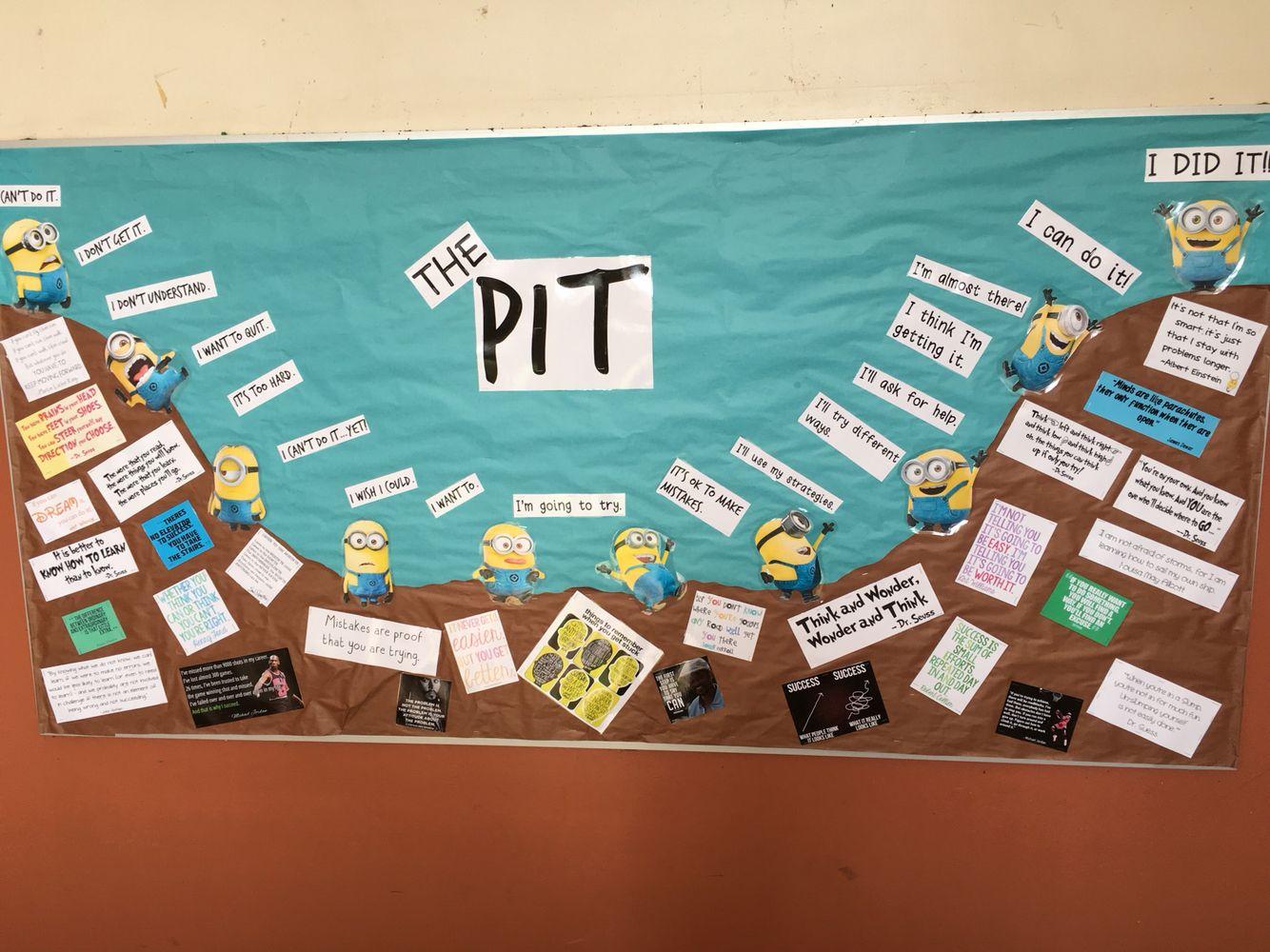 Pit Bulletin Learning Boards