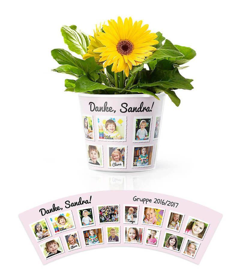 Kindergarten Blumentopf Geschenk für eine Gruppe mit 16 Kindern ...