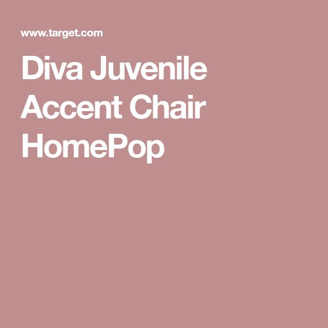 Diva Juvenile Accent Chair HomePop