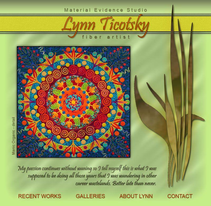 Lynn Ticotsky - Fiber Artist