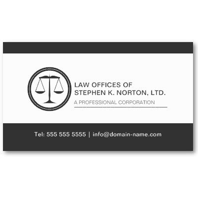 Professional Attorney Business Card Zazzle Com In 2021 Attorney Business Cards Lawyer Business Card Business Cards Online