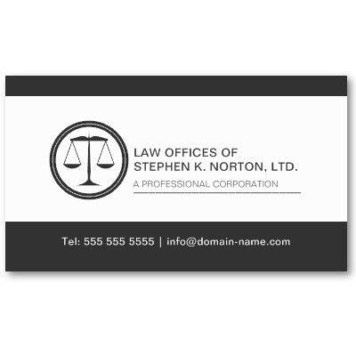 Professional Attorney Business Card Zazzle Com In 2021 Attorney Business Cards Lawyer Business Card Customizable Business Cards