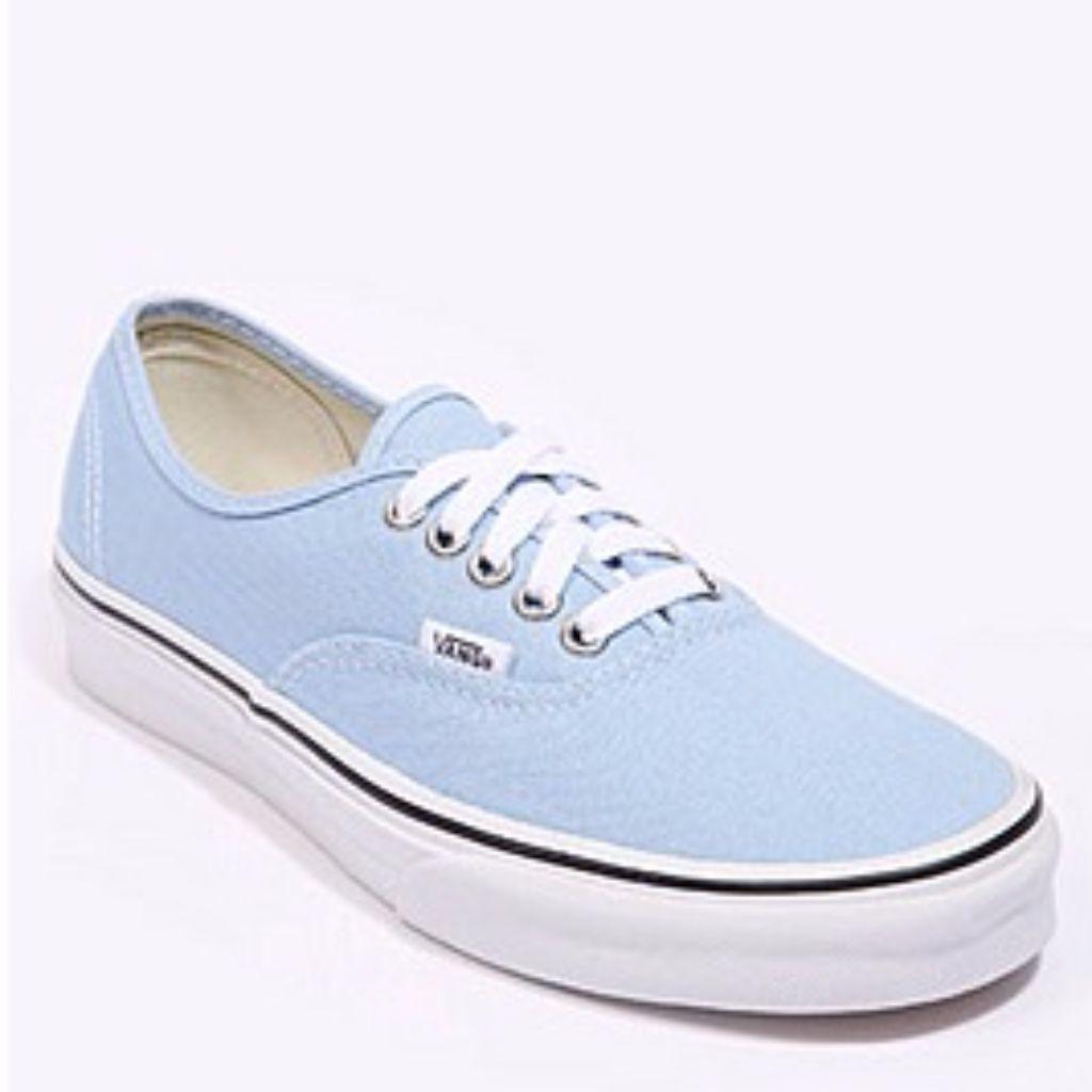 Vans Authentic Pale Blue Trainers Sky