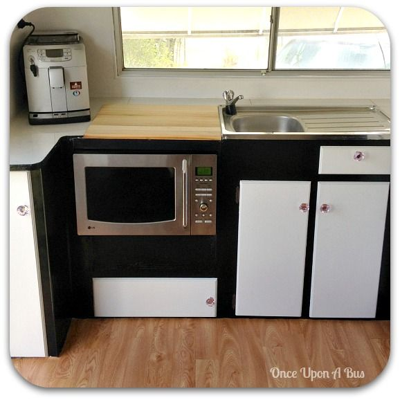 Caravan Kitchen Accessories: My Caravan Renovation - Kitchen Almost Complete