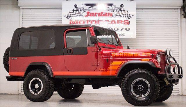 Jeep Classifieds 1984 Jeep Scrambler Internet Price 25 950 Mileage 67631 Vin 1jcce88e0et030794 Color Red Stock 00bt8898 Jeep Scrambler Jeep Cj Scrambler