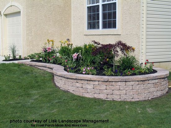 Front Yard Landscape Designs With Before And After Pictures Porch Landscaping Front Yard Landscaping Design Landscape Ideas Front Yard Curb Appeal