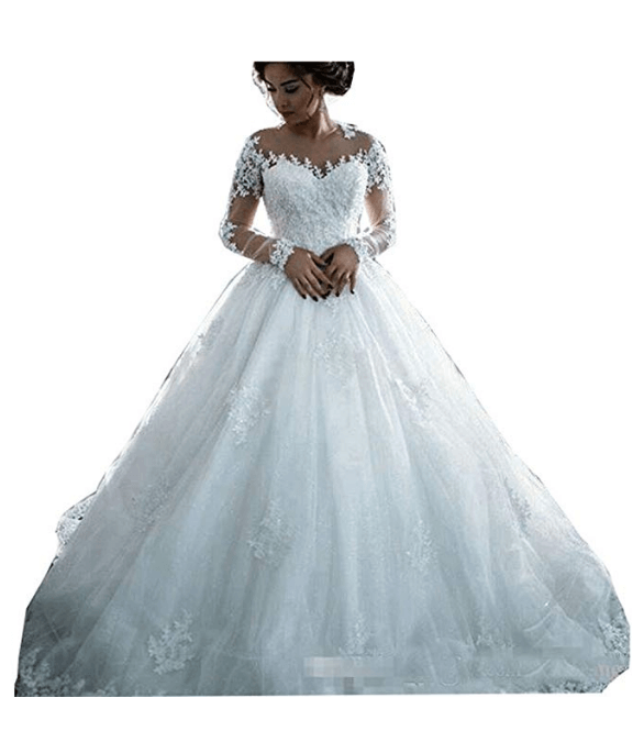 dd9d7add679 25 Ball Gown Wedding Dresses Under 200 Dollars For Budget Savvy ...