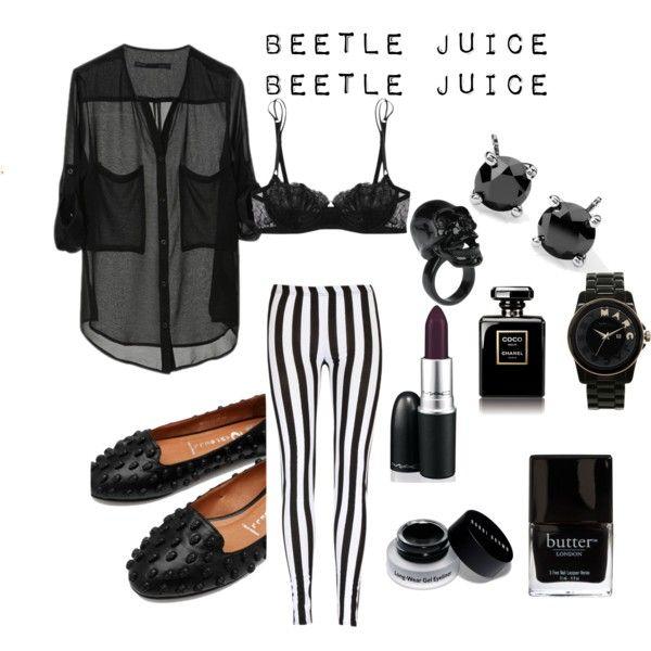 """Beetle Juice"" by lilyshipwreck on Polyvore"