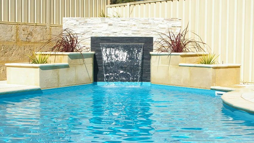 37 Swimming Pool Water Features Waterfall Design Ideas Pools